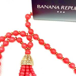 Tassel Necklace by Banana Republic